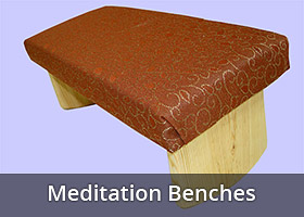 meditation kneeling bench stool